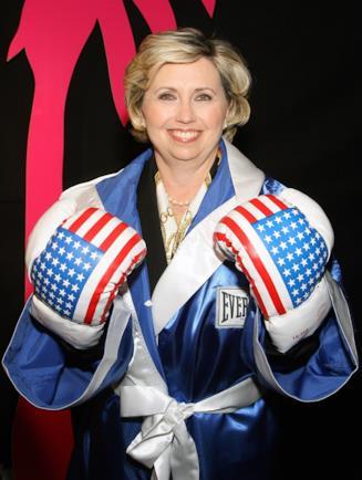 Teresa Barnwell, sosia Clinton