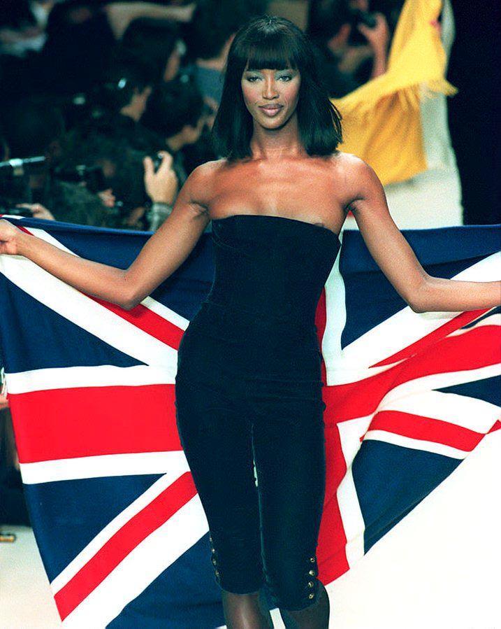 La strana dieta di Naomi Campbell: