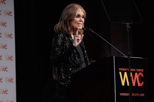 Gloria Steinem al Women's Media Center