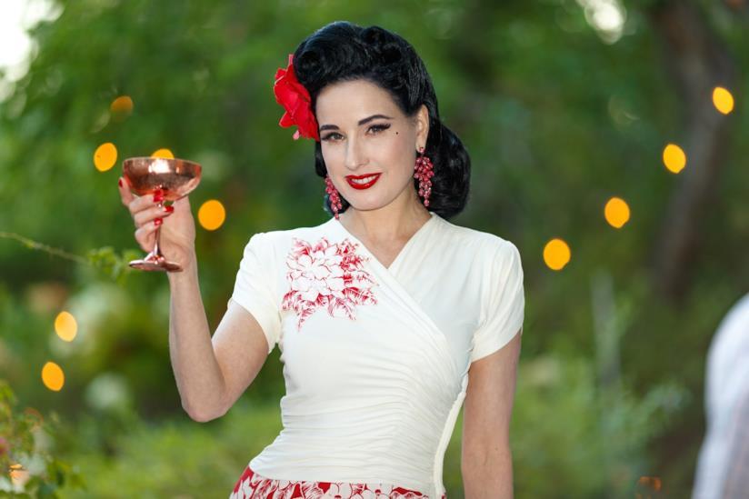 La regina del burlesque Dita Von Teese