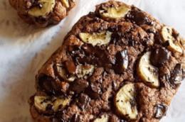 Dolci con rondelle di banana e cioccolato