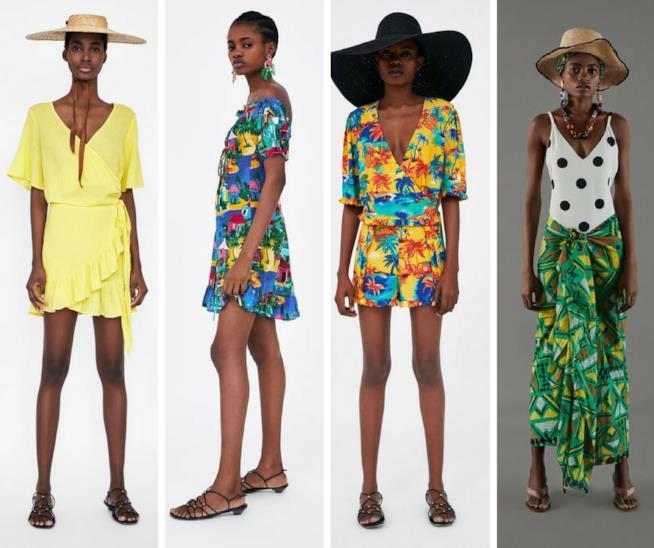 Abiti e accessori da mare Zara 2018