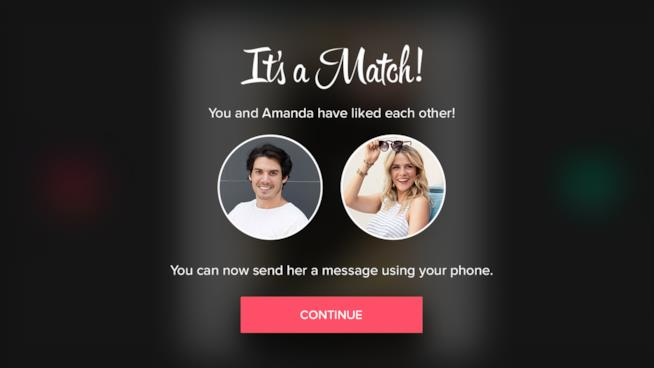 Tinder, applicazione dating online