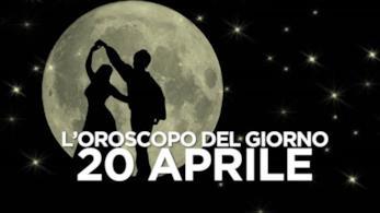 L'oroscopo del giorno di Sabato 20 Aprile