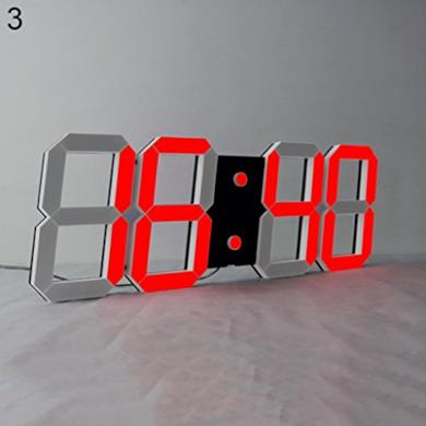 Orologio LED da parete, Multifunzione