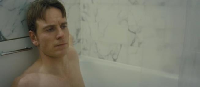 Una scena del film Shame di Steve McQueen