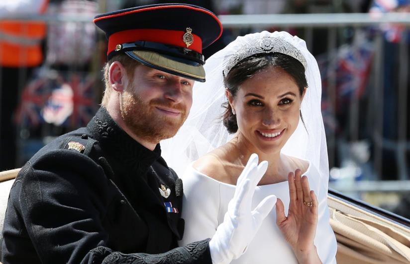 Il Principe Harry e Meghan Markle finalmente sposi