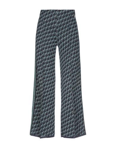 Pantalone nero con stampa