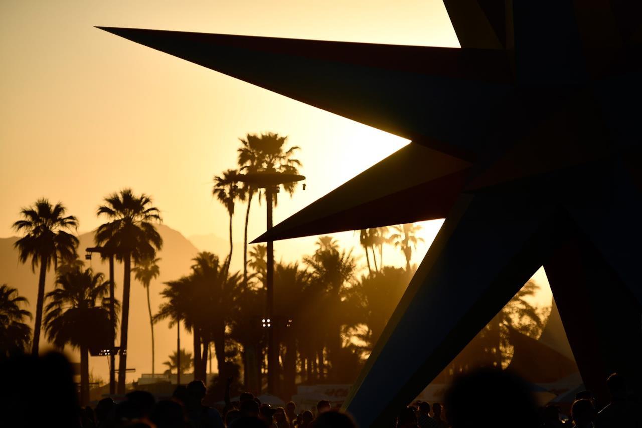 Vista panoramica del Coachella