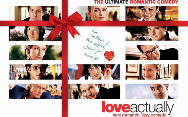 Una immagine dal film Love Actually, dal regista di Quattro matrimoni e un funerale