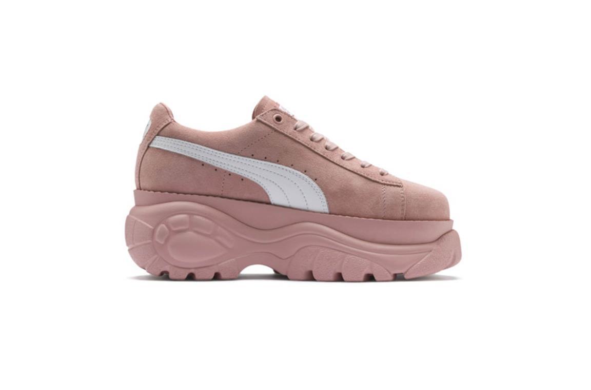 X Suola E Le In Nuove Puma Tomaia Buffalo Sneakers Suede Con Alta N8vO0mnw