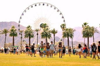 Panoramica del Coachella 2018