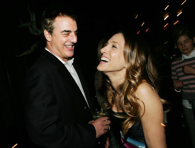 Chris Noth e Sarah Jessica Parker