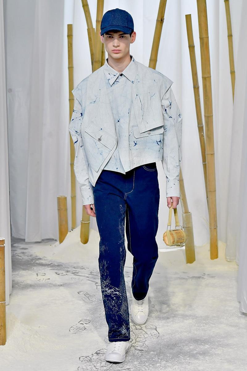 Sfilata FENG CHEN WANG Collezione Uomo Primavera Estate 2020 Londra - CSC_2446