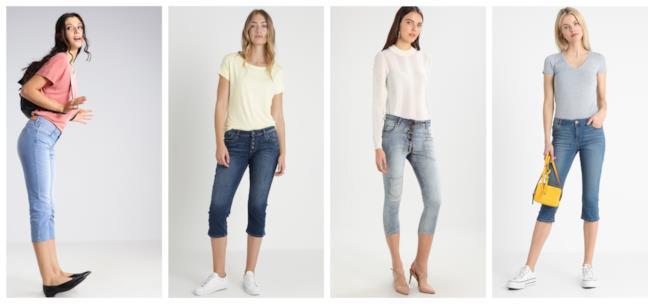 Capri, i jeans di tendenza dagli anni '80