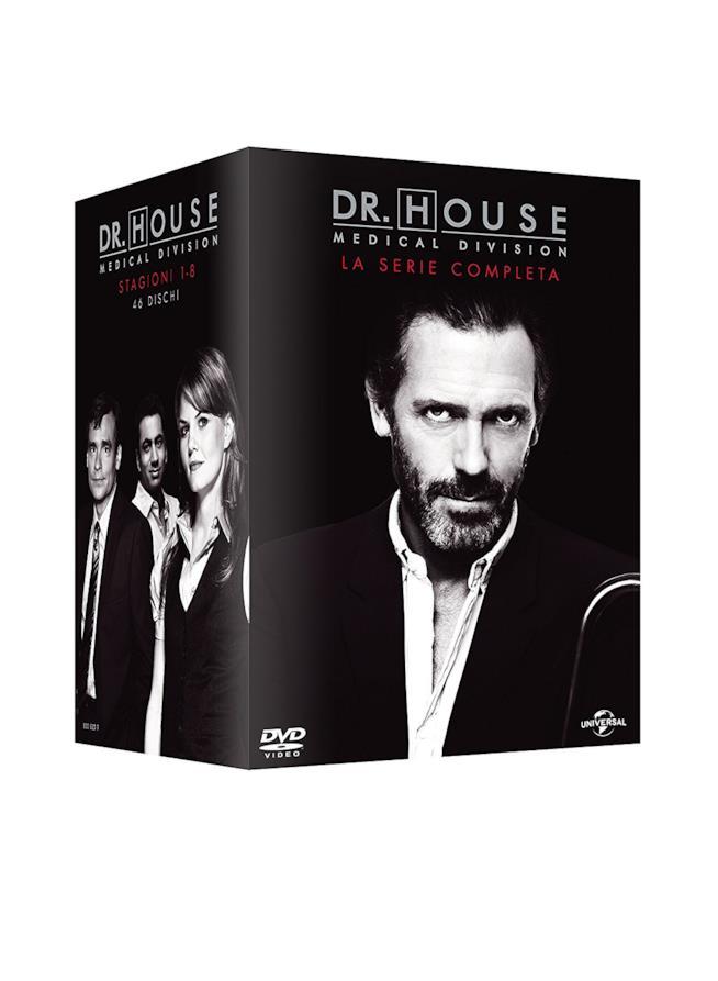 Cofanetto DVD di Dr. House - Stagioni 1-8