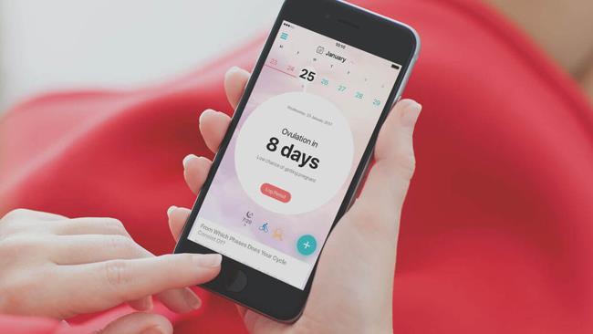 Flo, applicazione ciclo mestruale e ovulazione