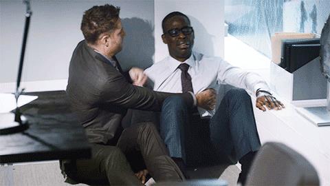 Randall e Kevin in un'immagine da This Is Us