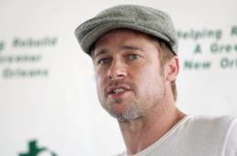 L'attore Brad Pitt