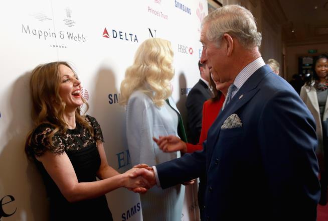 Geri Halliwell e il Principe Carlo