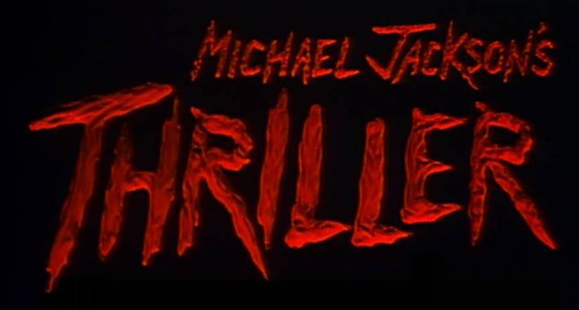 Michael Jackson thriller logo