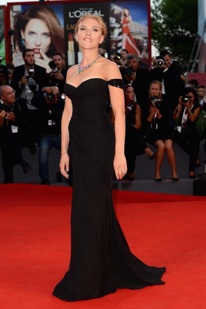 Scarlett Johansson a Venezia nel 2013