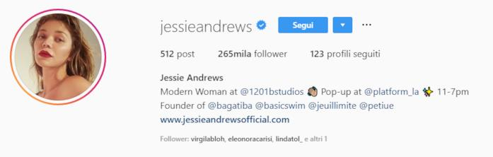 Profilo Jessie Andrews