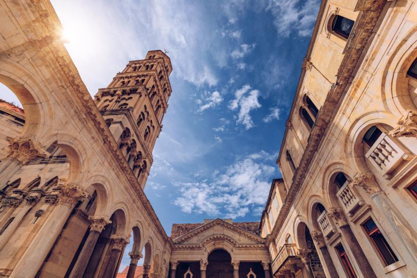 Il simbolo di Split: il Palazzo di Diocleziano