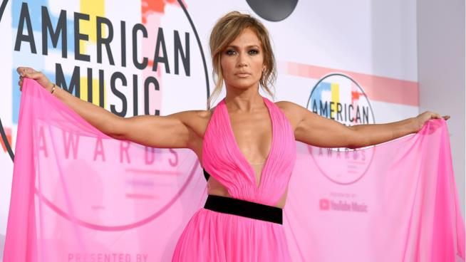 La cantante e attrice Jennifer Lopez