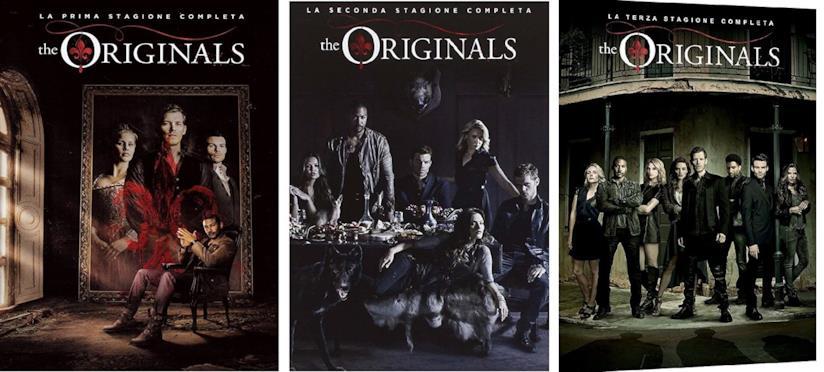 Cofanetto DVD di The Originals - Stagioni 1-3