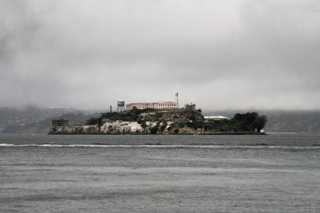 L'isola di Alcatraz, nella baia di San Francisco