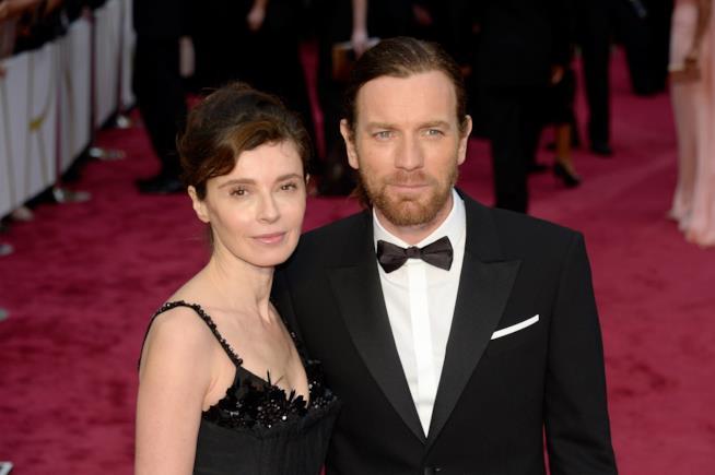 Ewan McGregor con la moglie Eve Mavrakis