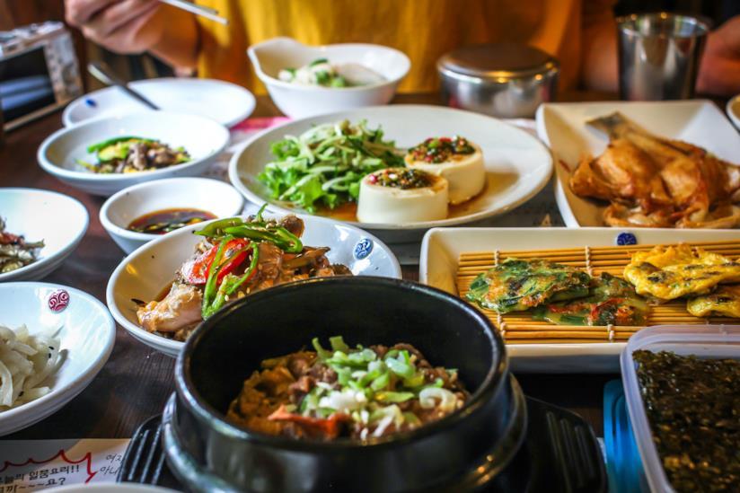 Piatti tipici coreani
