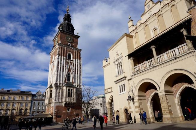 Piazza del Mercato a Cracovia