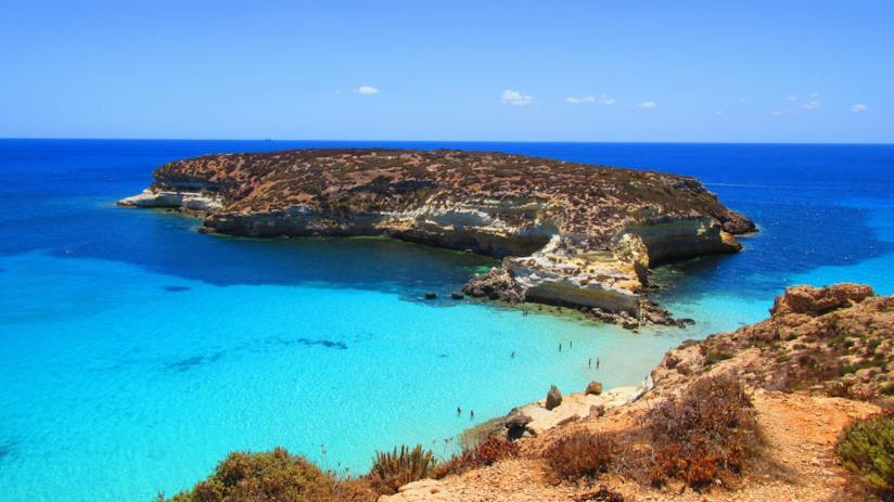 Spiaggia dei Conigli, Lampedusa vacanze primavera 2018