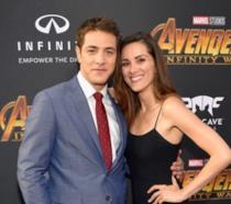 Alberto Frezza e Stefania Spampinato alla première di Avengers: Infinity War