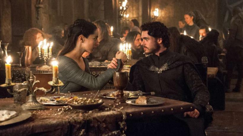 Talisa e Robb di Il trono di spade