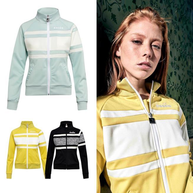 Le giacche stile anni 80 di Diadora