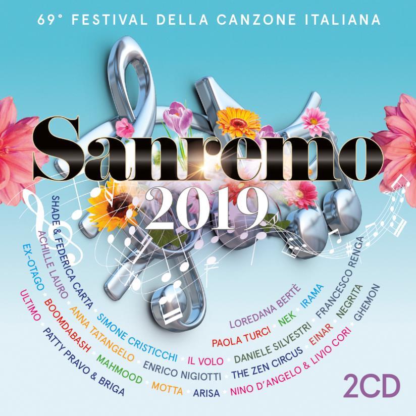 Sanremo 2019: la copertina della compilation ufficiale