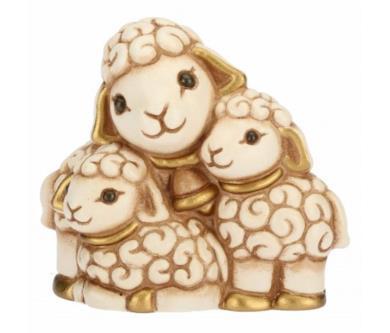 Pecorelle in ceramica