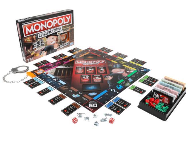 L'edizione del Monopoli per i truffatori
