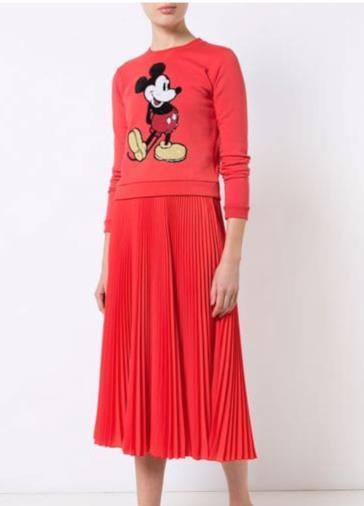 Maglione con Mickey Mouse ricamato
