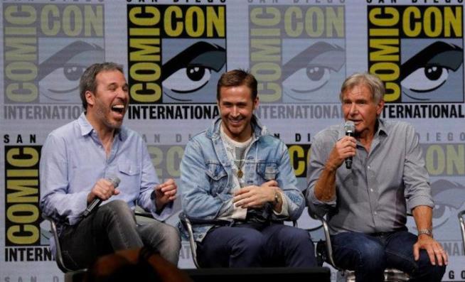Denis Villeneuve, Ryan Gosling e Harrison Ford al panel di Blade Runner