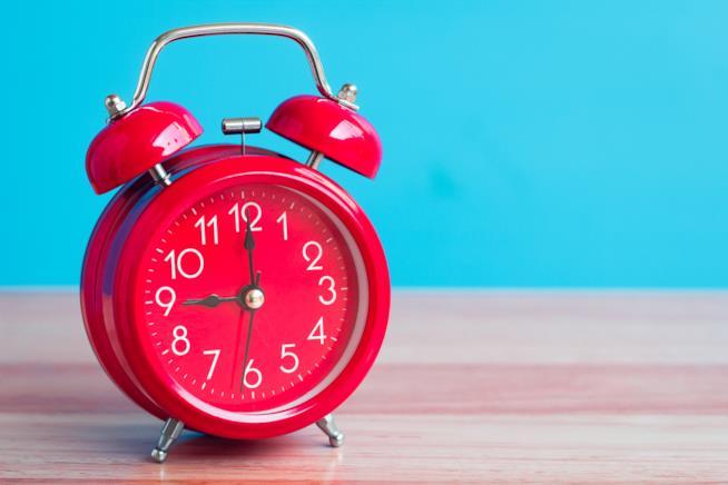 Un orologio a sveglia