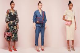 La gamma colori dell'iconica borsa baguette di Fendi