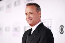 L'attore Tom Hanks sul red carpet dei People's Choice