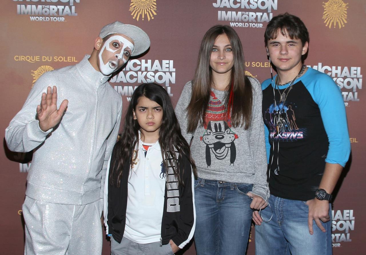 Paris Jackson a un evento commemorativo per Michael Jackson