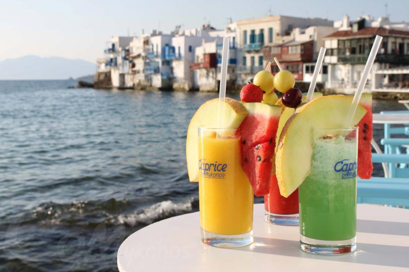 Cocktail al Caprice of Mykonos a Mykonos