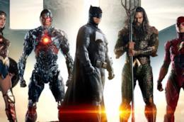 La gallery sulla linea di moda di Justice League