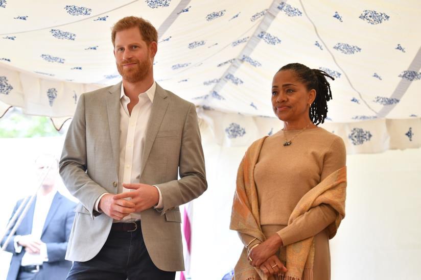 Il Principe Harry e Doria Ragland